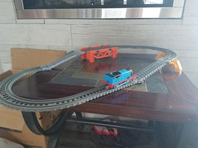 Thomas the train and track.