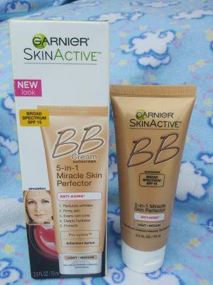 Garnier skin active bb cream sunscreen anti-aging