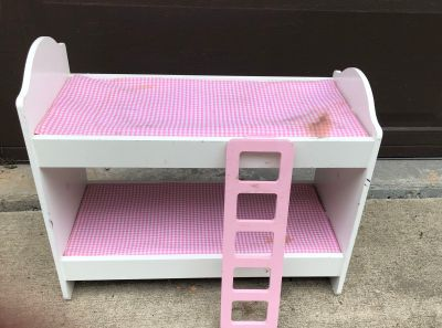 Doll bunk bed from Cracker Barrel