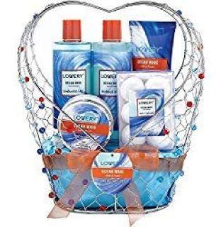 Bath & Spa Gift Basket For Women & Men