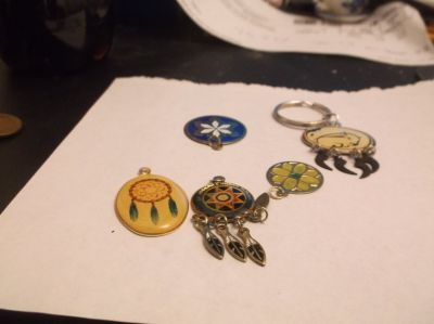 collection of charms