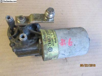 vanagon wiper motor #6