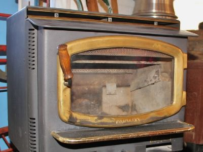 Avalon Wood Stove ( 990 )
