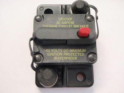 Find BLUE SEA 185 SERIES THERMAL CIRCUIT BREAKER 30 AMP ESM-30 SURFACE MOUNT BOAT 30A motorcycle in Osprey, Florida, US, for US $51.95