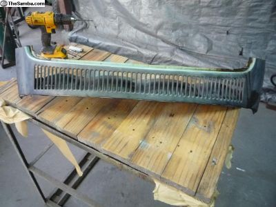 Bug Louver Section Rust Repair Panel