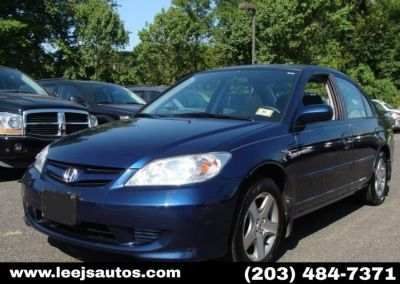 2005 Honda Civic LX (Eternal Blue Pearl)