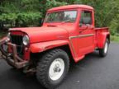 1962 Willys Jeep 4WD 3spd Manual