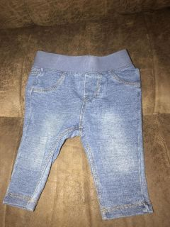 The CUTEST jeans ever! Lol Cat & Jack 3-6m