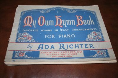 Antique My Own Hymn Book 1941 56 pages