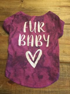 Fur Baby- worn once for picture- size large