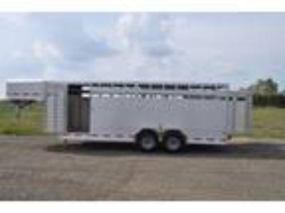 2017 Frontier 20' Livestock Trailer Stock