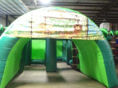2-Piece Inflatable 40' x 50' Maze W/ Blowers RTR#8013688-07