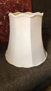 Antique lamp shade- large