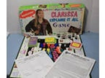 Clarissa Explains It All Nickelodeon VTG Board Game 100%
