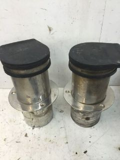 Find PAIR OF STAINLESS STEEL EXHAUST TIPS 4IN motorcycle in McCalla, Alabama, United States, for US $75.00