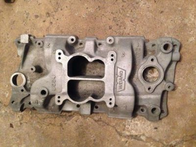 Buy Weiand 8004 Intake Manifold Small Block Chevy motorcycle in Aurora, Illinois, United States, for US $75.00