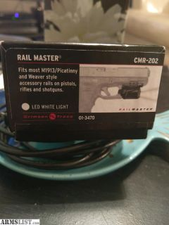 For Sale: Crimson Trace Rail Master Light