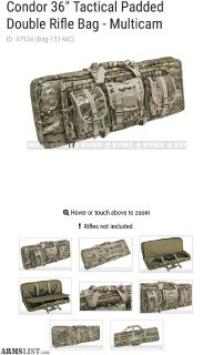 For Sale: Condor 36 Tactical Padded Double Rifle Bag