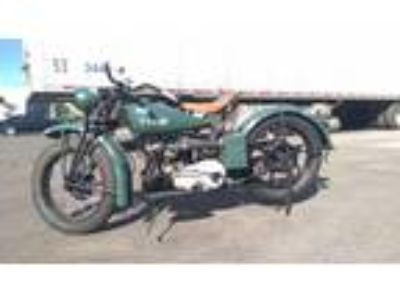 1941 Indian 741 Scout Military