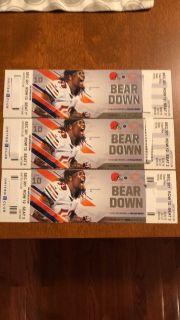 **NEW PRICE** 3 Bears Tickets 12/24 UNITED CLUB SEATS
