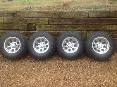 GM Alloy wheels and tires