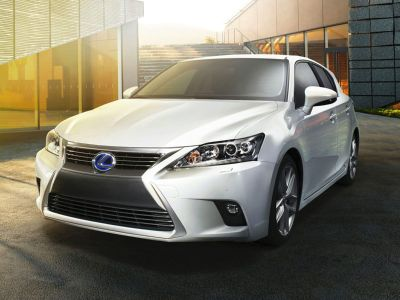 2014 Lexus CT 200h Base (Red)