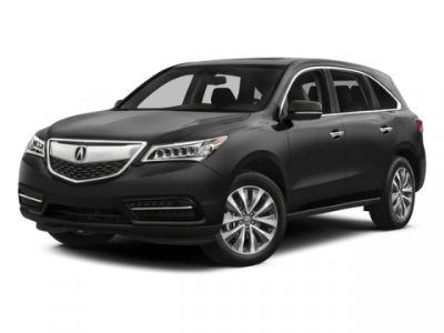 2015 Acura MDX Base w/Tech (Silver Moon)