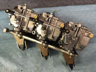 Purchase Clean Used 2005 Yamaha 3 Cylinder 50 HP Carburetor Set with Reed Plate & Reeds motorcycle in Scottsville, Kentucky, United States, for US $169.00
