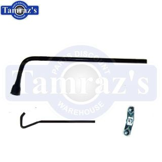Buy GM Chevy Buick Olds Bumper Jack Spare Tire Handle Hold-Down J-Bolt & Wing Nut motorcycle in Plainfield, Illinois, US, for US $34.00