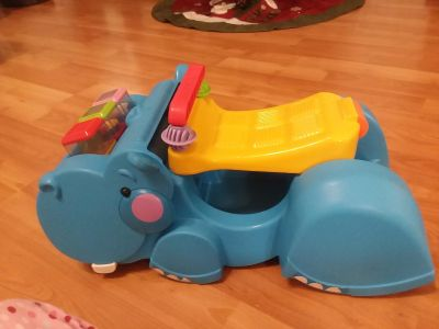 Hippo ride-on toy excellent used condition
