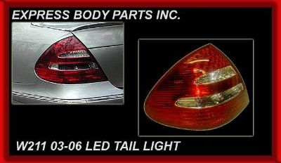 Buy 2003-2006 2004 05 W211 E CLASS E320 E350 E500 LED Tail Light LAMP REAR BACK LH motorcycle in North Hollywood, California, US, for US $138.00