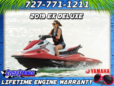 2019 Yamaha EX Deluxe 3 Person Watercraft Clearwater, FL