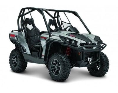 2017 Can-Am Commander XT 1000 Side x Side Utility Vehicles Conroe, TX