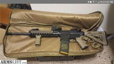 For Sale: Built AR15 with FDE Magpul Furniture