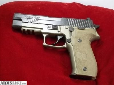 For Sale: Sig P226 Combat FDE night sights
