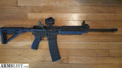 For Trade: DPMS Panther 5.56, 223 AR-15. Trade for full size 9mm.