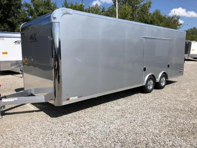 NEW 2019 ATC RAVEN 24' ENCLOSED TRAILER W/ESCAPE DOOR