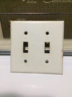 Lightswitch cover.