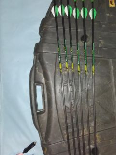 6 brand new Wolverine 31 in carbon fiber arrows