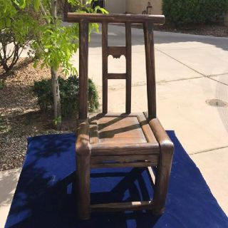 Kid Sized Chinese Wooden Chairs
