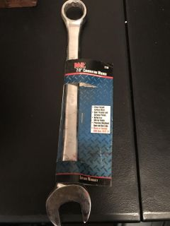 New MIT 7/8 Combination Wrench