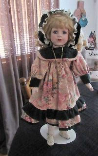 Beautiful Porcelain Doll ..she has a nice necklace