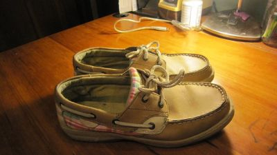 Sperry Bluefish boat shoes. Fits 7 - 7.5