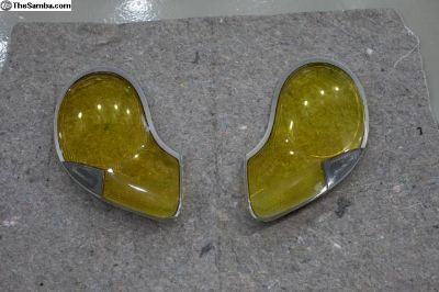 996 GT3R Yellow Factory Headlight Lenses