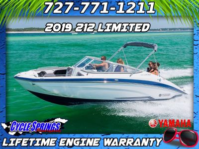 2019 Yamaha 212 Limited Jet Boats Clearwater, FL
