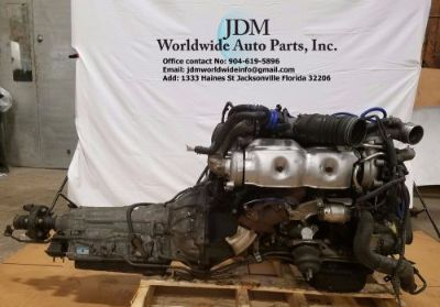 Find JDM Toyota 2jzgte vvti twin turbo Aristo GS300 2jz engine motorcycle in Jacksonville, Florida, United States, for US $1,650.00
