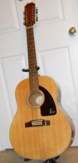 Vintage Epiphone by Gibson 12 string acoustic guitar