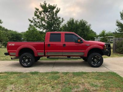 Ford F-250 4x4 Lariat Crewcab, Lifted, 7.3L Powerstroke Diesel, Texas