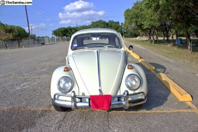 1964 bug sunroof 1200cc 40HP engine 6V system