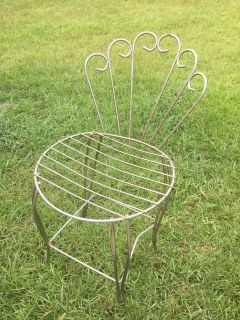 Sweet metal project chair